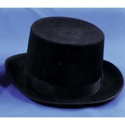 Top Hat Felt Qual Black Medium