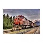 Educa Pacific vonat, Kanada HDR puzzle, 1500 darabos