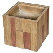 G21 Wood Cube virágcserép 44x44x41cm