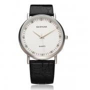 Horloge Met Leren Band Van BAISHUNS