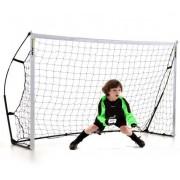 QUICKPLAYSPORTS Porta da calcio montabile 2.44 x 1.52 m Kickster