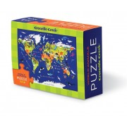 Puzzel Matchbox Puzzle World - Wereld | Crocodile Creek