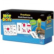 Educational Insights Hot Dots Math Flash Cards- Fractions