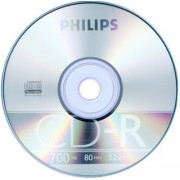 CD-R Philips 52x 700MB Blank
