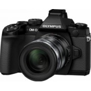 Aparat Foto Foto Mirrorless Olympus E-M1 + Kit EZ-M1250 Bonus Power Battery Holder Olympus