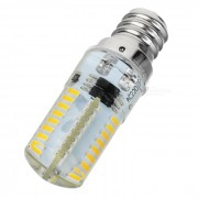 E12 4W dimmable lampara LED caliente blanco 3500K 180lm 64-SMD (ac 220V)