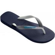 havaianas Top Mix Sandały niebieski/czarny Sandały codzienne