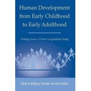 Human Development from Early Childhood to Early Adulthood by Wolfgang Schneider