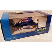 SuperSlot H3668 Racing Kart Avionics Nº1 Blue