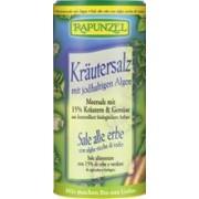 Sare Bio Iodata de Condimentat cu 15% Ierburi si Legume Rapunzel 125gr