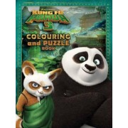 Kung Fu Panda 3 Colouring & Puzzle Book by Dreamworks.