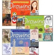 Drawing is a Class Act: A Skills-based Approach to Drawing (set of 3 books) by Meg Fabian