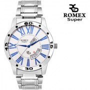 Romex Super Day N Date Roman Numerial Analog Dial Mens Watch- Dd-Roman