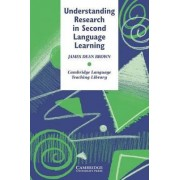 Understanding Research in Second Language Learning by James Dean Brown