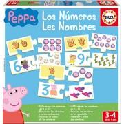 Peppa Pig - I numeri, gioco educativo (Educa Borras 16224)