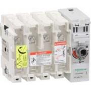 Corp întrerupătoare siguranțe tesys gs2m - 4 poli - 200 a - din b1, b2 - Corpuri intrerupatoare sigurante - Tesys gs - GS2MMB4 - Schneider Electric