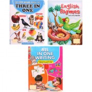 Activity Book Combo of Three In One Book - English Rhymes - All In One Writing