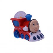3D Light Train Engine With Very Cute Music & Lighting Effects On Floor And Ceiling (Multicolour)