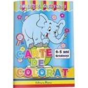 Carte de colorat 4-5 ani colectia Campionii
