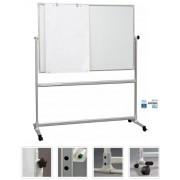 OfficeBoard Átfordítható Mágneses Tábla 150x100 cm (RAKTÁRON) (RAKTÁRON, AZONNAL SZÁLLÍTHATÓ)