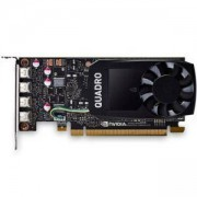 Видео карта PNY NVIDIA Quadro P1000 DVI, 4GB, GDDR5, 128 bit, DisplayPort, PNY-VCQP1000DVI-PB