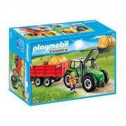 Комплект Плеймобил 6130 - Голям трактор с ремарке - Playmobil, 291158