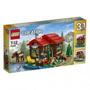 Lego - 31048 - Creator - Jeu de Construction - La Cabane au Bord du Lac