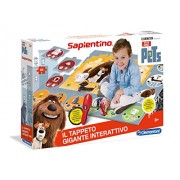 Clementoni 11926 - Gioco The Secret Life Of Pets il Tappeto Gigante Interattivo