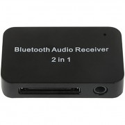 Apple 30-pin to Bluetooth Audio Receiver Adapter for iPhone / iPad
