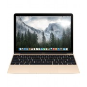 Laptop Apple MacBook : 12 inch Retina, Core M 1.1GHz, 8GB, 256GB, Intel HD 5300, INT KB, mk4m2ze/a - Gold