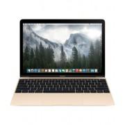 Laptop Apple MacBook : 12 inch Retina, Core M 1.1GHz, 8GB, 256GB, Intel HD 5300, INT KB, mk4m2ze/a - Gold