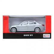 Rastar 1:43 Bmw M5 Silver M Series Diecast Car Collection