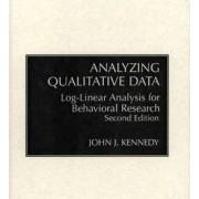Analyzing Qualitative Data by John J. Kennedy