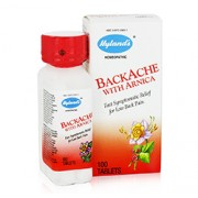 BACK ACHE RELIEF (With Arnica) 100 Tablets