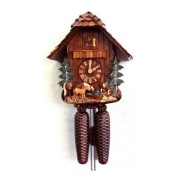 """ISDD Cuckoo Clock - Reloj cucú, diseño """"una escena de caballos"""""""