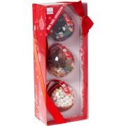 Quai Sud Geschenkset mit 3 Weihnachtskugeln - 1 Set