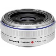 Obiectiv Olympus M.Zuiko Digital 17mm Pancake (Argintiu)