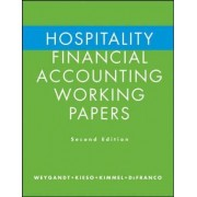 Hospitality Financial Accounting Working Papers by Jerry J. Weygandt