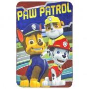 Fleece kleedje Paw Patrol rood voor kids