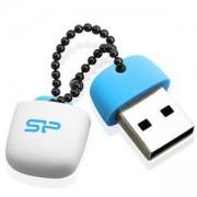 Флаш памет Silicon Power T07 Touch 32GB USB 2.0 Цвят Син SLP-USB-T07V1B-32GB