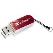 Verbatim 98507 8Gb Sports Edition Mini Usb Drive - Red