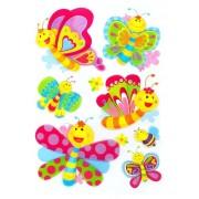 Väggstickers Glada Fjärilar