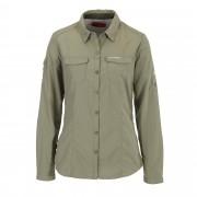 Craghoppers NosiLife Adventure L/S Shirt Damen Gr. 14 - oliv-dunkelgrün / soft moss - Funktionsblusen
