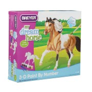 Breyer My Dream Horse 3D Paint-by-Number Kit Pinto