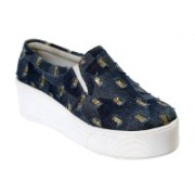 Leather Park Casuals, Party Wear(Navy)