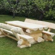 Holzgarnitur Schweden