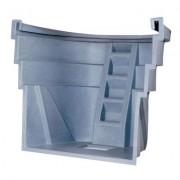 Wellcraft 2060 Series Single Unit Egress Window Well Grey Granite