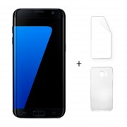 Samsung Galaxy S7 Edge G9350 5,5 Pulgadas Quad Core 4 GB RAM 32 GB ROM Negro + Protector De Pantalla + Estuche