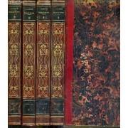 Theatre De M. C. Delavigne - Nouvelle Edition - 4 Volumes - 2 + 3 + 4 + 5. / Volume 2 Tome 1. Les Vepres Siciliennes - Volume 3 .Tome 2. - Le Paria - Volume 4. Tome 3. La Princesse Aurelie - ...