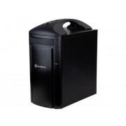 Carcasa Sugo SFF SST-SG04B-FH, neagra